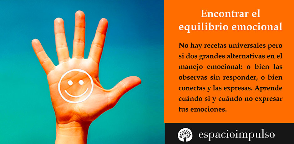 promover el equilibrio emocional